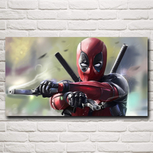 Deadpool Wade Wilson USA Superheroes Comic Movie Art Silk Poster Home Decor Painting 11x20 16x29 20x36 Inches Free Shipping(China)