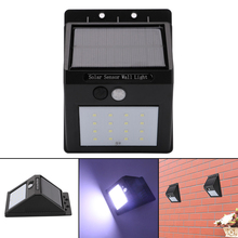 6-20 LED Outdoor Solar Light Motion Sensor Switch Control Wall Light Energy Saving Solar Lamp Security Lights for Outdoor Garden(China)