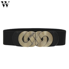 Feb4 Amazing 2016 New Summer Women Ladies Elastic Belts Female Wide Waistband