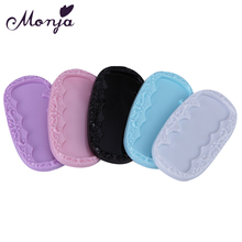 1Pc Nail Art Crown Oval Square Fingernal Holder Case Gel Polish Color Showing Flase Display Tips Storage Container Manicure Tool