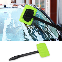 2 colors Windshield Easy Cleaner - Microfiber Auto Window Cleaner Clean Hard-To-Reach Windows On Your Car Or Home Hot Selling(China)