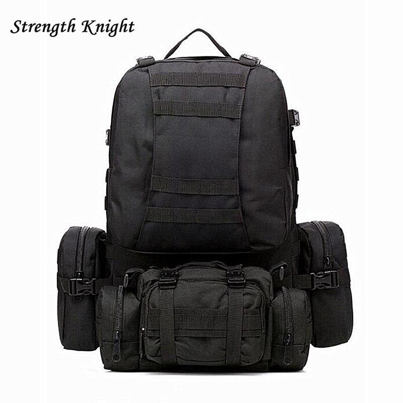 Waterproof 3D Army Fans Rucksack Bag Multi Sytle Multifunction High Capacity for Hike Trek Camouflage Travel Backpack  Z13<br>