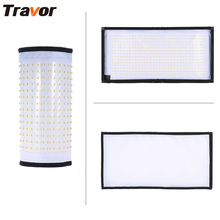 Travor Flexible led video light FL-3060 size 30*60CM CRI95 5500K with 2.4G remote control for video shooting(China)
