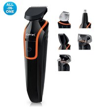 6in1 Grooming kit trimmer hair clipper beard for men shape electric shaver cutter hair cutting machine shaving trimer face body(China)