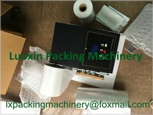 LX-PACK Brand Lowest Factory Price Buffering Void-fill air pillow packaging machine and films free with plastic air cushion film(China)