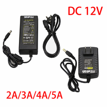 DC 12V 2A/3A/4A/5A Monitor Power Supply Surveillance Camera Waterproof Power Adapter For Ip Camera /AHD Camera/CCTV Camera