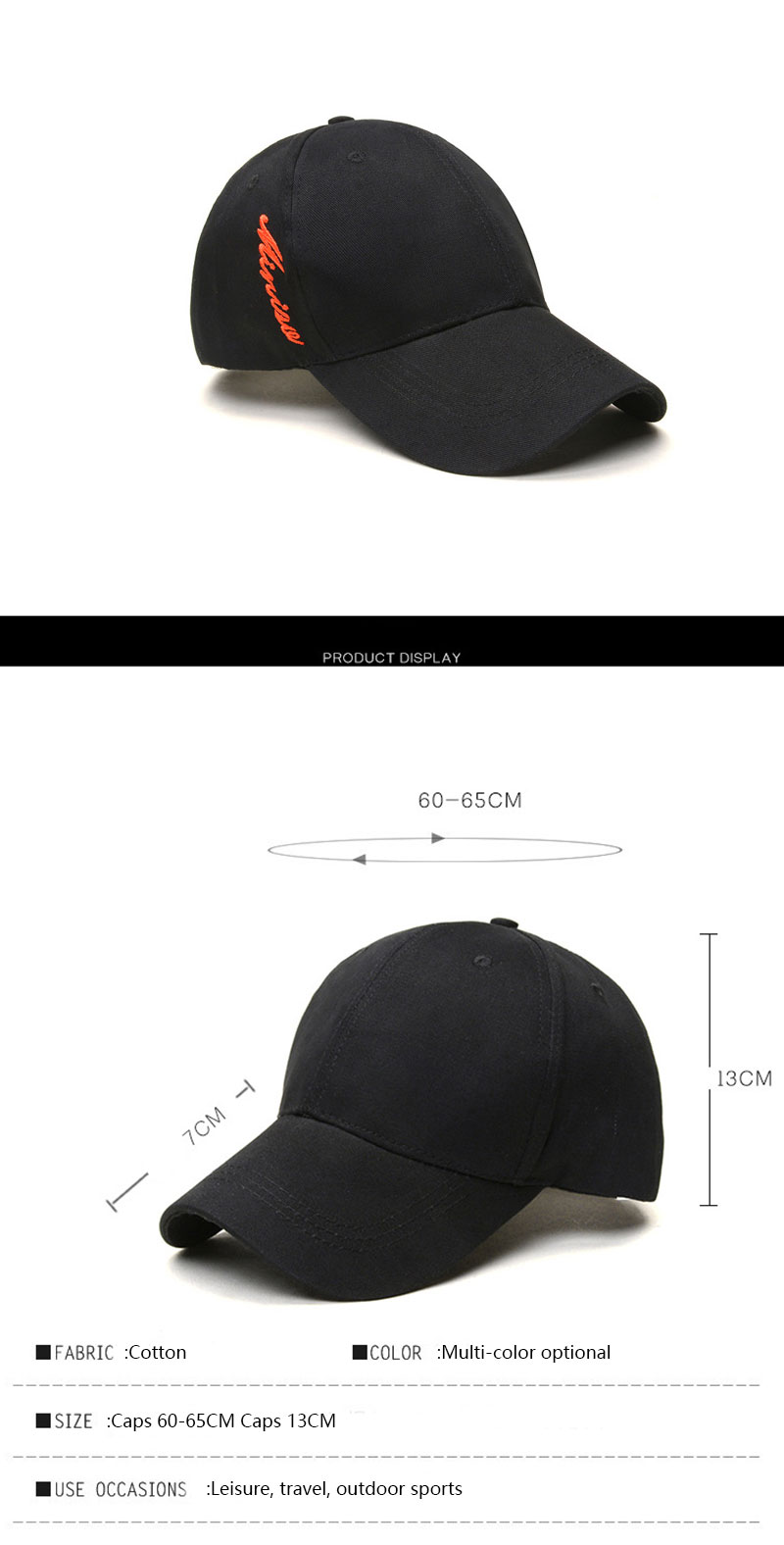 New Tyle Golf Caps Neutral Outdoor Sports Visor Running Hats Student ... e724684e5be4