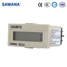 lcd counter with power NO-voltage SC3J timer 6 digit counter 0-999999 counts DIN 48*24