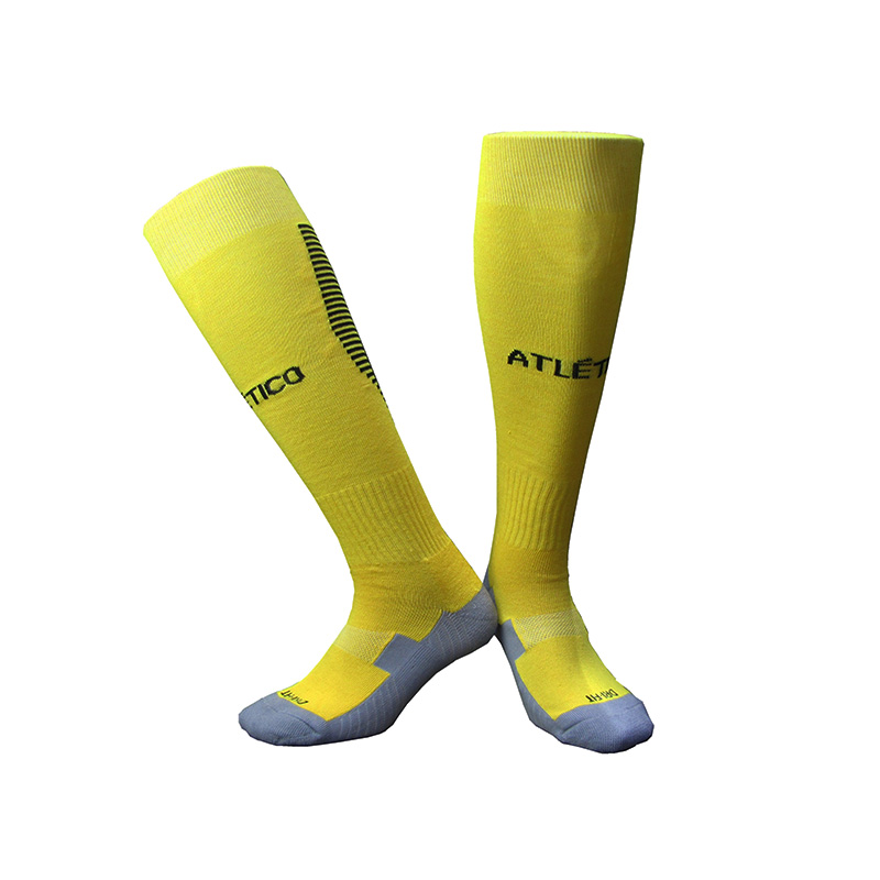NO Logo National Team Germany Football Barreled Knees Slip Bottom Thick Stocking Spain Soccer Socks Compression Socks 24