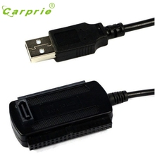CARPRIE MotherLander USB 2.0 To IDE SATA Converter Adapter for 2.5 3.5 Hard Drive Disk HDD Feb13(China)