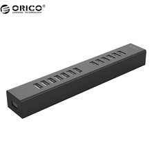 ORICO H1313 USB 2.0 HUB 13 Ports USB 2.0 HUB for MAC Notebook Perfectly with 100CM Data Cable - Black/White(China)