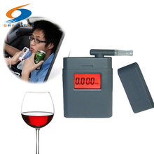 Promotion High Accuracy Mini Alcohol Tester Breathalyzer Alcometer Alcotest Remind Driver Safety in Roadway Diagnostic Tool