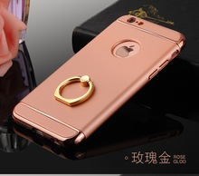 Luxury Ring Cover Cases for iPhone 7Plus 7 Plus Unique Cell Phone Coque For Apple iPhone 7Plus Retail Wholesale 2017 New Arrival
