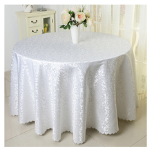 Europe Polyester wedding table cloth Printed tablecloth Solid tablecloths Round table cover For Hotel Banquet toalha de mesa