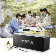 Original MPOW Bluetooth Speaker 20W Portable Wireless Speaker 2600mAh Enhanced Bass Sound Box w/ Built-in Mic 3.5mm Audio Port(China)