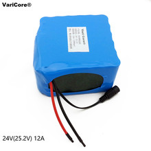 24V 12Ah 7S6P 18650 Battery li-ion battery 29.4v 12000mAh electric bicycle moped /electric/lithium ion battery pack+2A Charger