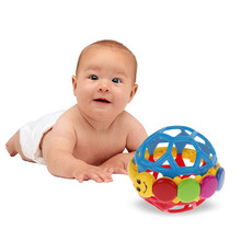 New Baby toys Kids Educational Toys Bendy Ball Toddlers Fun Multicolor Activity Toy Brand(China)