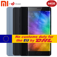 Original Xiaomi Mi Note 2 4GB RAM 64GB ROM Mobile Phone Snapdragon 821 Quad Core 5.7inch FHD Fingerprint ID MIUI 8