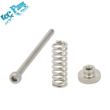 5PCS/lot Leveling Spring Knob M3 Thread Screws Nuts 45mm Part Components Hexagon Hex 3D Printer Parts Stainless Steel(China)
