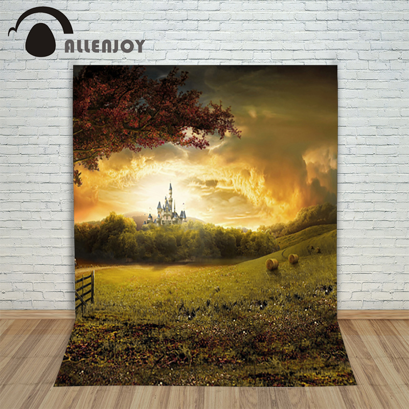 photo studio backdrop baby 6.5x10ft(200x300cm) Dusk on the outskirts of the castle background for photo shoot<br><br>Aliexpress