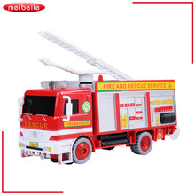 Children's Gift Universal Rotary Bubble Music Fire Vehicle Children's Electric Toy Luminous Music Toy(China)