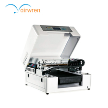 New machine cd dvd printing machine digital UV flatbed printer for small business with high solution