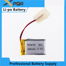 Syma S107 S108 S109 S026 3.7V 240mAh 30C LiPo Battery For 6020 Syma S107 S108 S109 S026 RC Helicopter Quadcopter Parts(China)