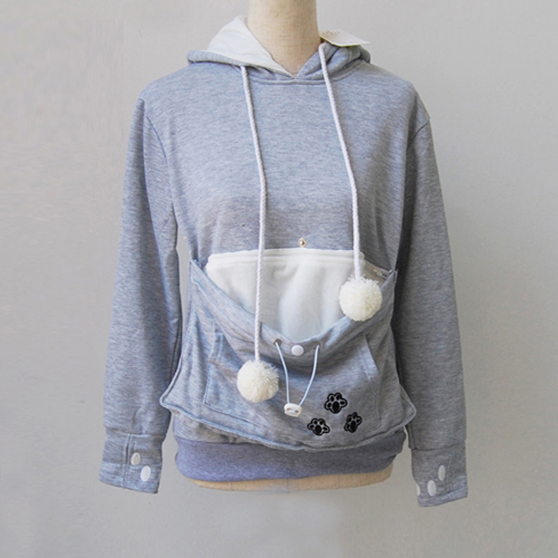 Nice Cat Lovers Hoodie With a kangaroo pocket Nice Cat Lovers Hoodie With a kangaroo pocket HTB1kjv1avjM8KJjSZFyq6xdzVXaH