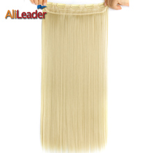 Buy Alildear Hair Collection 22 Inch 56Cm Long Straight White Women Clip Hair Extensions Black Blonde Red High Light 5 Clips Hair for $4.49 in AliExpress store