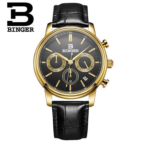 Geneva Watches Men 2017 Binger Fashion Brand Quartz Clock Army Military Sport Watch Digital Wristwatches relogio masculino<br>