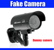 Dummy Fake camera Emulational camera Fake Surveillance Security CCTV Camera for Home Security Night CAM LED Light