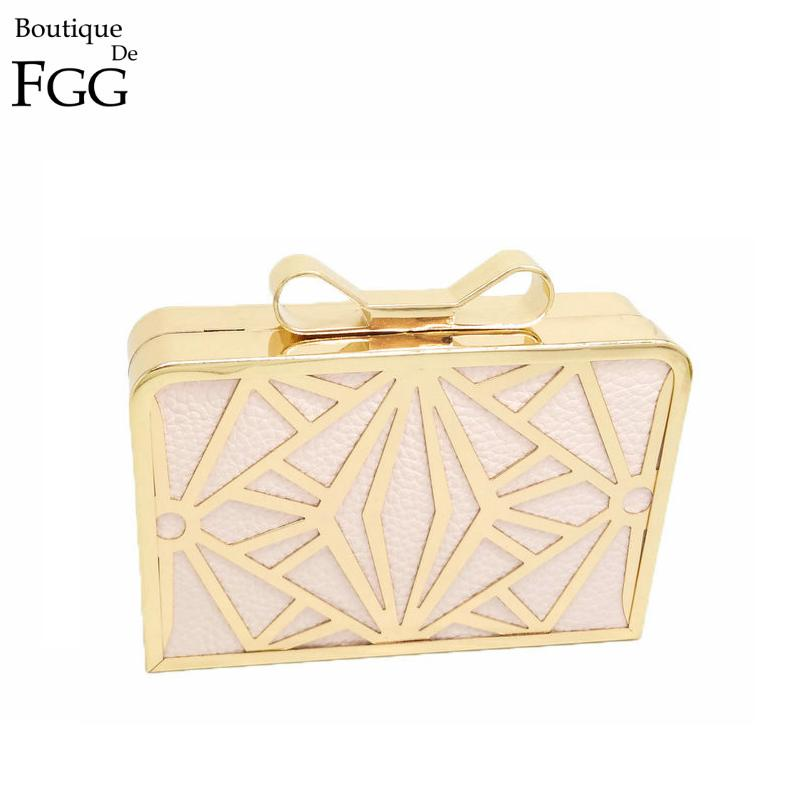 3 Colors Vintage Women Hollow Out Metal Bow Gold Hard Case Evening Bag Ladies Fashion Day Clutches Handbag Dinner Banquet Clutch<br><br>Aliexpress