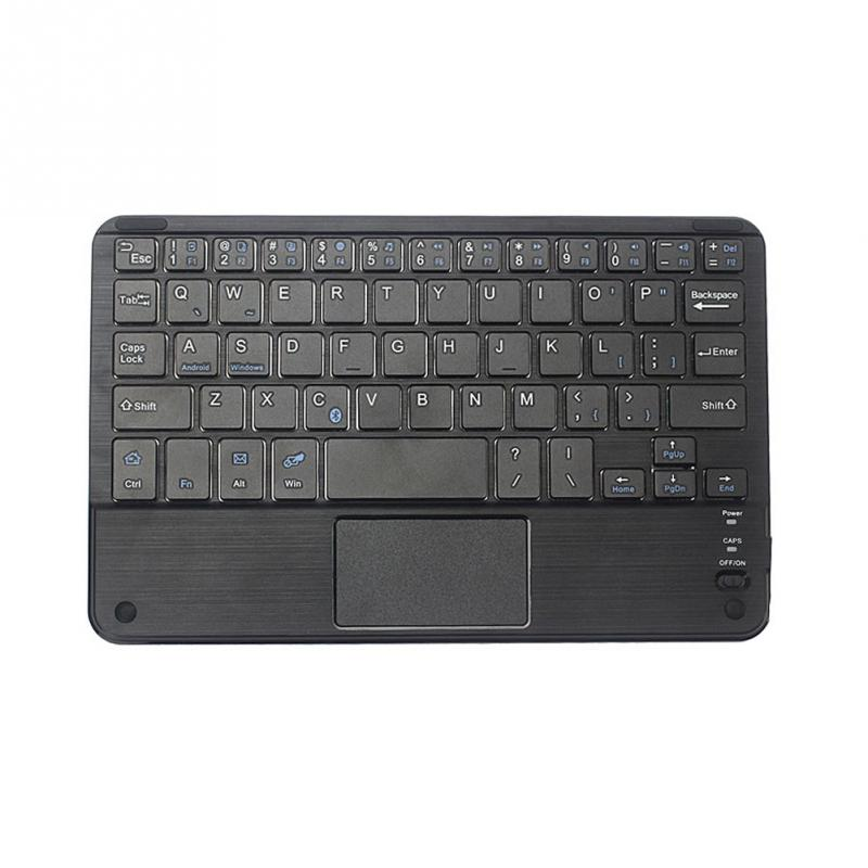 High Quality Wireless Bluetooth Keyboard Touchpad For All 7-10 inch Android Windows Tablets Drop Shipping #0703 6