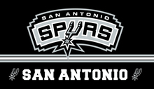 San Antonio Spurs basketball team  sidelong or vertical banner 100D Polyester Metal Grommets 90*150 CM customized sport flags