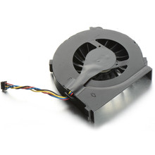 MOOBOM 4 Wires Laptops Replacements CPU Cooling Fan Computer Components Fans Cooler Fit For HP CQ42/G4/G6 Series Laptops P25(China)