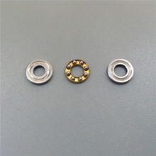 Buy 2PCS 4mm Plane Axial Ball Bearing Thrust Bearing Lubrication Bearings RC Electric Boats Hard/Flexile Shafts Connector