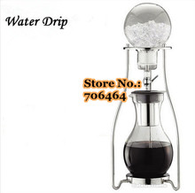 New Water/Ice drip coffee maker(best price & best quality) 1200cc with stainless steel Ice coffee dripper factory directly sale(China)