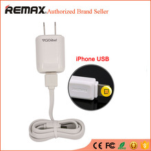 REMAX 8pin USB Cable Smart Charger Fast Charging Wall Travel Adapter For iPhone 5 5s 6 6s plus iPad 4 mini 2 3 Air 2 iOS 8 9