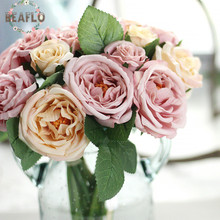 1Bunch Artificial Ranunculus Bouquet Flower DIY Silk Flower for Party Home Wedding Decorative Craft 4 Colours