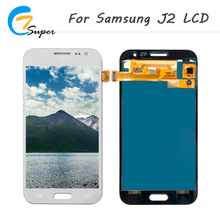 ET-Super Good Quailty LCD Display For Samsung Galaxy J2 J210 J210F 2016Touch Screen Digitizer Assembly For Samsung J2 LCD Screen(China)