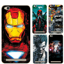 "Buy Soft TPU Case Cover Xiaomi Redmi 5A 5.0"" Marvel Avengers Charming Design Phone Cases Coque Redmi 5A 5 Case Capa Funda for $1.37 in AliExpress store"