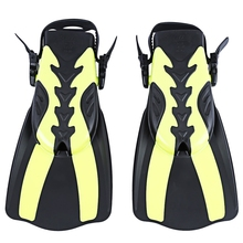 WHALE 2 Size Diving Swimming Fins Comfortable Trek Snorkeling Foot Flipper Snorkeling Swimming Diving For Professional Diver