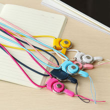 for cell phone Detachable Neck Straps Lanyard For Cell Phone Mp3 Phone Neck Strap for iphone rope ring