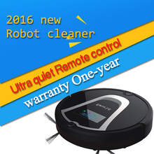 Eworld M884 New Design Floor Wash Robot Smart Vacuum Cleaner Robot Infrared Induction Receiver Alarm Function with Mop Black