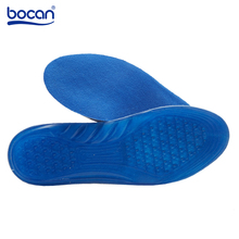 Bocan Insoles for Shoes Foot Care for Plantar Fasciitis Heel Spur Running Sport Insoles Shock Absorption for Men and Women(China)