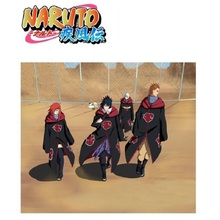 Naruto Costume Cloak Itachi-Clothing Hawk Sasuke Uchiha Cosplay Anime Hat Uzumaki S-2xl