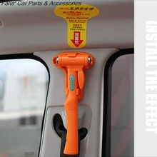 2017 Auto safety hammer multi-function on-board vehicle bus escape hammer broken Windows, life preserver
