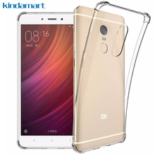 Xiaomi Redmi Note 4X case silicon non-slip bumper air cushion corners drop protection clear case for Xiaomi Redmi Note 4X cover