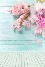 Buy Laeacco Turquoise Wooden Boards Flowers Easter Eggs Baby Newborn Photography Backgrounds Photo Studio Custom Photo Backdrops for $6.43 in AliExpress store