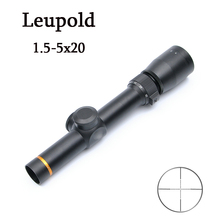 New LEUPOLD 1.5-5X20 Optics Riflescope Hunting Scopes Mil-Dot Illuminated Tactical Scopes Riflescopes For Airsoft Air Rifles
